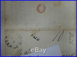 1847 Edgefield Ct. House SC Signed Autographed Stampless Hand Written Letter