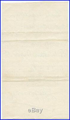 1881 Joseph Jefferson Autographed Hand Signed 2 Page Handwritten Letter ALS JSA