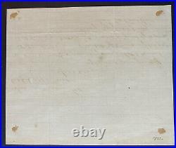 1894 CHARLES CURTIS US Senate Handwritten Letter VP Hoover Native American FDR