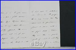 1906 Henry P Hansell, Tutor of Prince Edward & Prince Albert Hand Written Letter