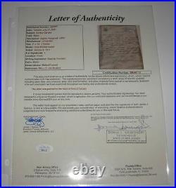 1914 Enrico Caruso Autographed Hand Written Letter & Photo Jsa
