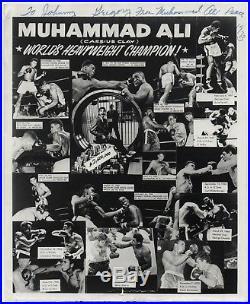1973 MUHAMMAD ALI handwritten autographed letter & signed photo (2 items) LOA