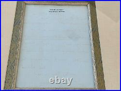 1980 Jacqueline Kennedy Onassis Handwritten Letter Framed GUARANTEE AUTHENTICITY