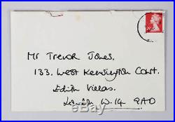 1996 Princess Diana Signed Letter Handwritten COA JSA
