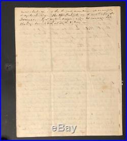 2019 Civil War Divided Original Handwritten Letter From BG William Noble With Coa