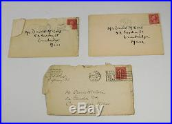 2 Handwritten Letters from Robert Frost, One from Elinor Frost, 1929-31, SIGNED