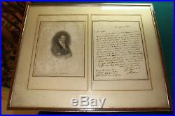 #A87, Rare Handwritten Letter J B Cramer 1840 Famous Pianist