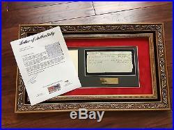 ABRAHAM LINCOLN PSA/DNA Handwritten AUTOGRAPH letter SIGNED President