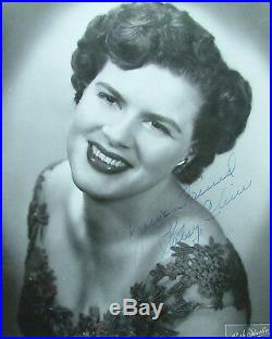 A Great Patsy Cline 3 Page Handwritten Letter and An 8 x10 Signed Glossy Photo