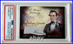Abraham Lincoln 1 Hand Written Words From Dual Signed Autograph Letter Psa/dna