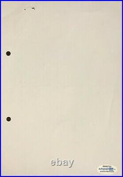 Antique Saddam Hussein's Handwritten Letter Starting War Order