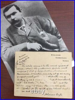 Arthur Conan Doyle Handwritten Letter Signed On Spiritualism