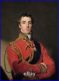 Arthur Wellesley, 1st Duke of Wellington handwritten letter Waterloo victor