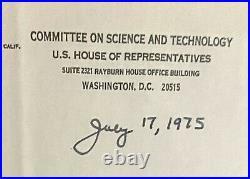 Astronaut Jack Swigert Apollo 13 Hand Written Letter Signed PSA/DNA NASA RARE