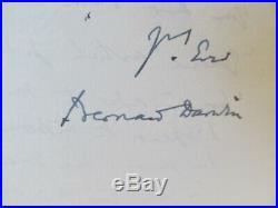 Bernard Darwin Hand Written Letter To Golf Writer Pat Ward-thomas