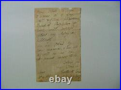 Bishop of Bath and Wells George Henry Law Hand Written Letter Todd Mueller COA
