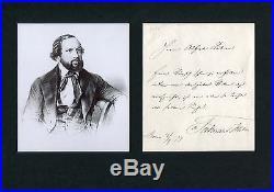 COMPOSER Ferdinand Hiller autograph, handwritten letter signed