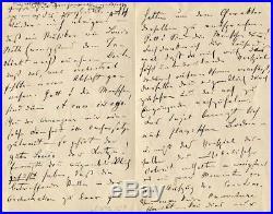 COMPOSER Johann Strauss II autograph, handwritten letter signed
