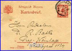 CONDUCTOR Max von Schillings autograph, handwritten letter signed