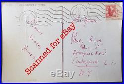 C. 1960 Handwritten POSTCARD Letter by MARLENE DIETRICH to HER GRANDSON Autograph