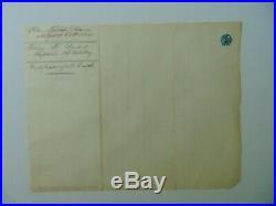 Capt Third Artillery Henry B. Judd Hand Written Letter Dated 1858 Mueller COA