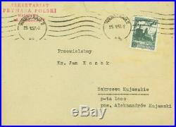 Cardinal Stefan Wyszynski Handwritten Letter 1957 Rare
