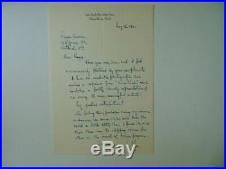 Cat's Whisker Detector Benjamin Miessner Hand Written Letter Todd Mueller COA