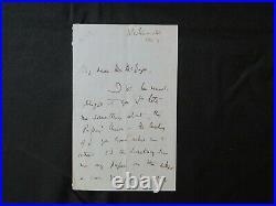 Charles Darwin Pallbearer Frederic Farrar Hand Written Letter Todd Mueller COA
