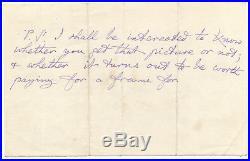 Charles Dodgson (Lewis Carroll) Alice Wonderland Handwritten Signed Letter-JSA