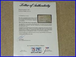 Christy Mathewson Signed Handwritten Letter To A Fan! PSA/DNA Cert. # AE07174