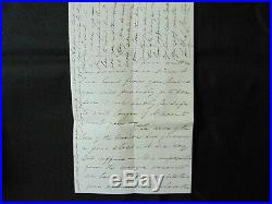 Connecticut Senator Lafayette S. Foster Hand Written Letter Todd Mueller COA