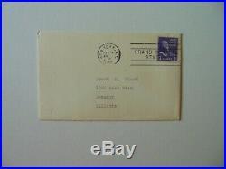 Countess of Listowel Judith Hare Hand Written Letter Dated 1953 JG Autographs