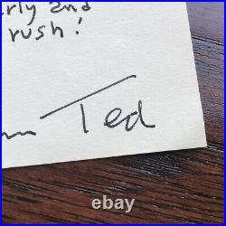 DR SEUSS JSA LOA Handwritten Autograph Letter Signed Twice Cat In The Hat