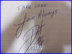 Dot Jones (star Of Glee) 3 Hand- Written Signed Love Letters 1985,1986 &1987