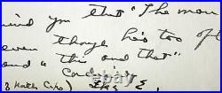 Dwight D. Eisenhower Signed 7x10.25 Handwritten Letter PSA/DNA #V07847