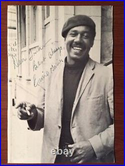 Ernest J. Gaines Twice Signed Photo & Handwritten Letter A Lesson Before Dying