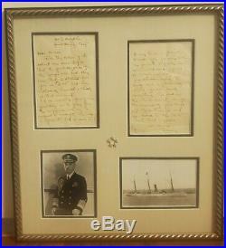 Fleet Admiral William Daniel Leahy Handwritten Historical Letter