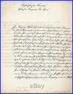 GENERALFELDMARSCHALL Karl Friedrich von Steinmetz autograph, handwritten letter