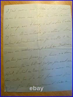 Gertrude Stein Autograph Handwritten Letter 1939