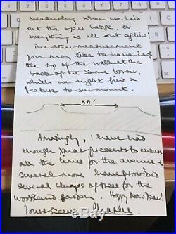 HRH Prince Charles Signed Handwritten Letter & Envelope Autograph UK Post £1.60