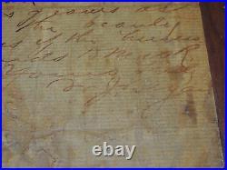 Hand Written Letter William Jennings Bryan Signed Scopes Monkey Trial
