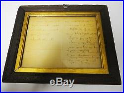 Henry W. Longfellow Original Signed Handwritten Letter literary Society11/26/1869