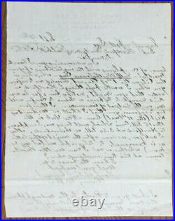 Henry W. Poor. Co-Founder of Standard & Poor's. Hand Written and Signed Letter