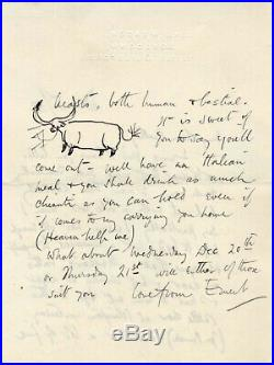 ILLUSTRATOR Ernest Shepard autograph, handwritten letter signed & book