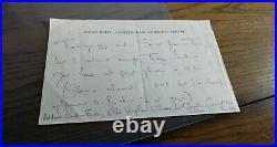 Imogen Holst (composer) SIGNED handwritten letter and concert programme