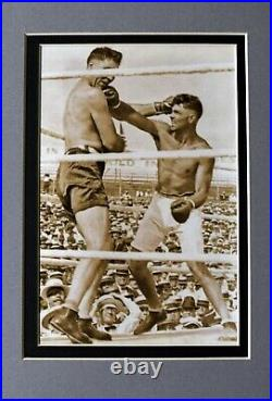 JACK DEMPSEY SIGNED AUTO AUTOGRAPH HANDWRITTEN LETTER WithJESS WILLARD PIC PSA/DNA