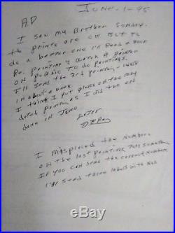 JAMES EARL RAY handwritten letter MLK assassination Criminal autograph ALS