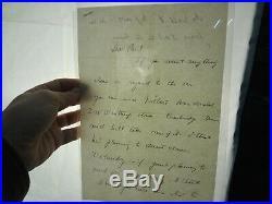 JFK Jack Signed 1939 Autograph Handwritten Letter ALS & Telegram PSA/DNA Auth