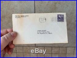 JOAN CRAWFORD handwritten letter 1953 tls autograph signed