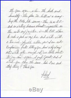 JOHN GOTTI 5-page handwritten letter PSA COA